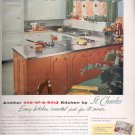 1957  St. Charles Steel Kitchens  ad (# 4820)
