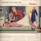 1945     Firestone - Foamex Mattress ad (# 4429)
