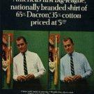 1965  Manhattan Shirts ad (  # 1154)