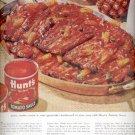 1960 Hunt Tomato sauce     ad (#4308)