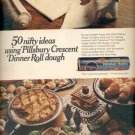 1968   Pillsbury Crescent Dinner Rolls   ad (#4122)