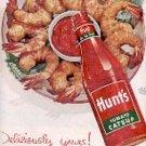 1955  Hunt's Tomato catsup ad (# 3123)