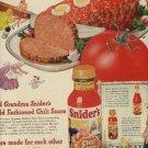 1947  Snider's Chili Sauce  ad (# 800)