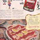 1948  Hunt's tomato sauce ad (# 3103)