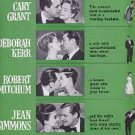 """1961  """"The Grass is Greener"""" movie ad ( # 2102)"""