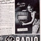 1937 General Electric Radio ad ( # 2708)