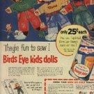 1953  Birds Eye Orange Juice ad (# 1340)