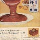 1957 Pet Evaporated Milk ad (# 2746)