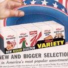 1959  Kellogg's New Variety ad (#2214)