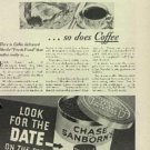 1932  Chase and Sanborn's Coffee ad ( # 504)