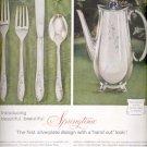 1957  - Springtime- 1847 Rogers Bros.  ad (# 5013)