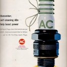 1964  AC  Fire-Ring Spark Plugs    ad (#5712)
