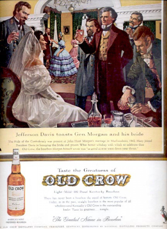 1961 Old Crow Bourbon  ad (#5412)