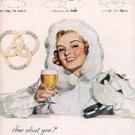 1948  Ballantine Ale ad ( # 3124)