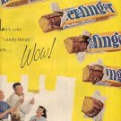 1961 Curtiss Candy Company- Butterfinger Candy    ad ( #2160)