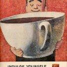1960  Sanka Coffee ad ( # 1628)
