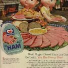 1961  Morrell Pride Canned Ham ad (# 1246)