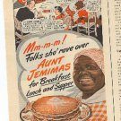 1945 Aunt Jemimas Ready Mix ad (# 1998)