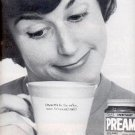 1962  Pream Coffee ad ( # 2238)