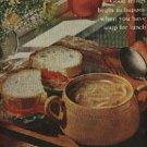 1961  Campbell's Turkey noodle soup ad (  # 1179)