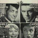 """1959 """"Career' w. Dean Martin movie ad (  #  828)"""