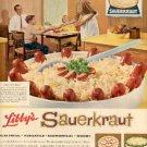 1960  Libby's Sauerkraut ad (   # 1623)