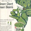 1961 Green Giant Green Beans ad ( # 2137)