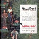 1957    Lawn-Boy Mowers ad (# 5007)
