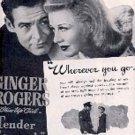 "1943 ""Tender Comrade"" movie ad (# 3144)"