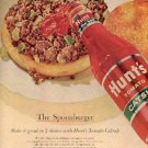 1963 Hunt's Catsup ad ( # 2318)