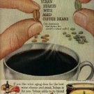 1961  Yuban Coffee ad ( # 1290)