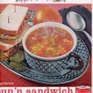 1962 Campbell's Soup ad (#  2187)