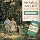 1960   Salem Filter Cigarettes ad (# 5204)