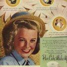 1946  Max Factor  w/ June Allyson ad (# 837)