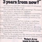 1972 Today's Army Wants You ad ( # 2691)