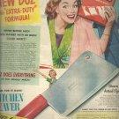Oct. 1949   Duz Detergent     ad  (#401)
