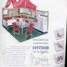 Jan. 1947 Daystrom  Tubular- Chrome- Kitchen Sets   ad (#122)