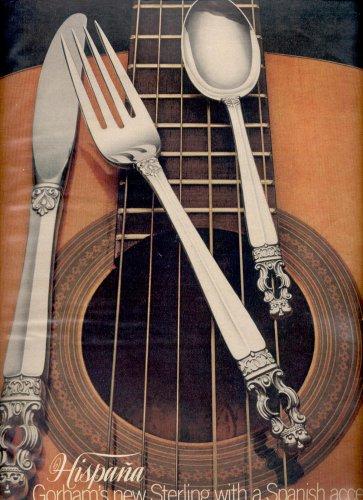 Sept. 1968  Hispana Gorham's new Sterling  ad (#112)