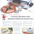 Dec. 1949  General Electric sandwich grill and waffle iron  ad (# 14)