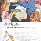 Dec. 1949  Melmac Dinnerware   ad (# 6)