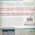 1960  Philco washer-dryer  ad (#5738)