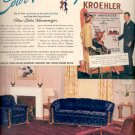 Oct. 30, 1939    New 1940  Kroehler Furniture  ad (#6073)