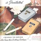 Sept. 21, 1942      Spud Imperial Cigarette    ad  (#3587)