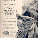 Oct. 25, 1937      Van Heusen Shirts      ad  (#6518)