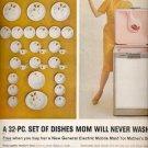 1960 General Electric dishwasher     ad (#5829)