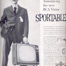 1959  RCA Victor Sportable TV   ad (#5559)
