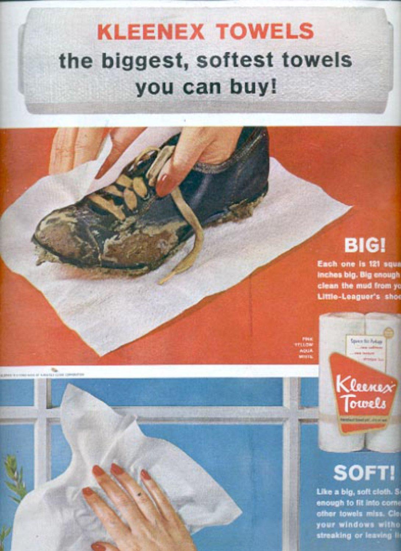 1963   Kleenex Towels    ad (#5526)