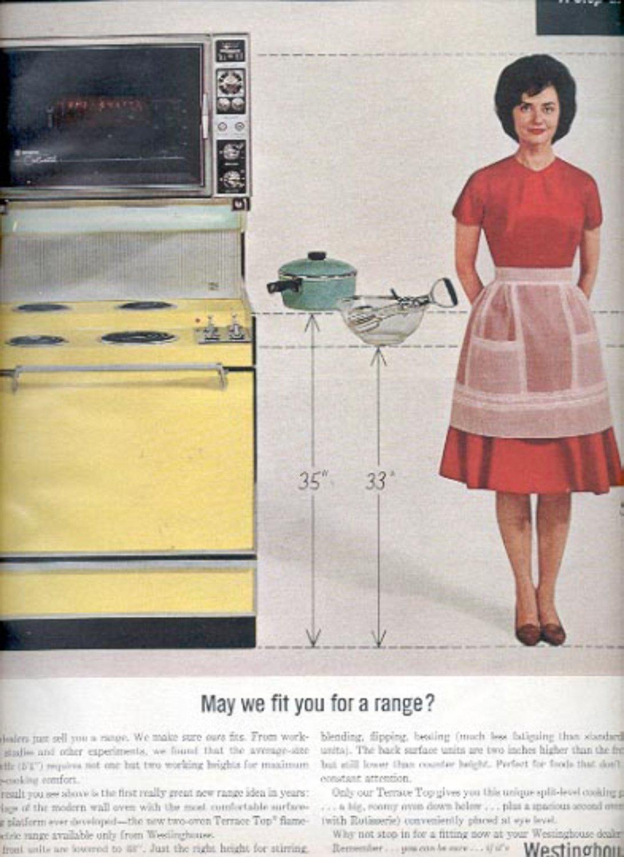 1964  Westinghouse Range  ad (# 4867)