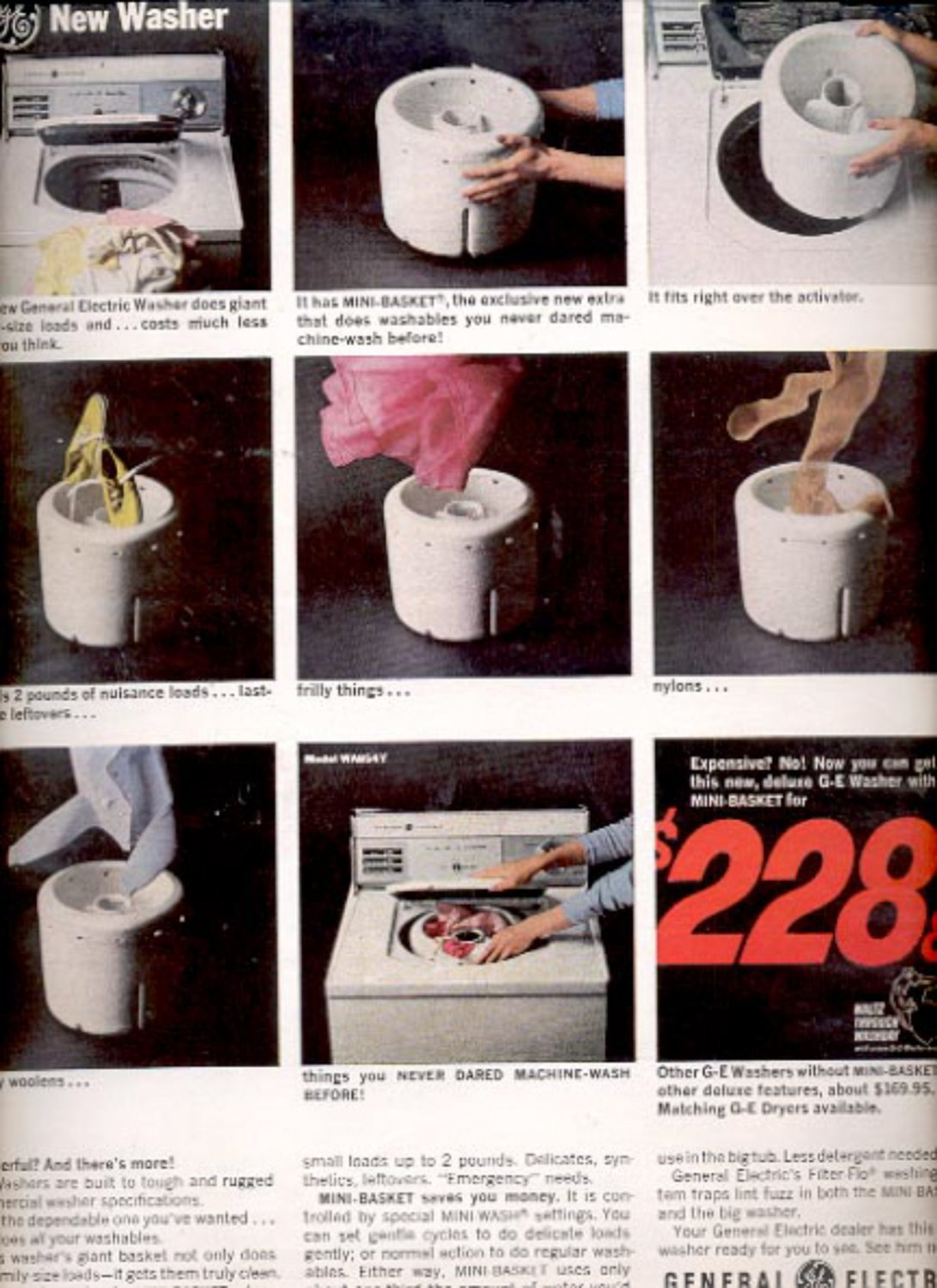 1964 General Electric Washer  ad (#5429)
