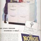 Dec. 1945   Norge gas range   ad (# 5132)